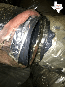 Torn Duct
